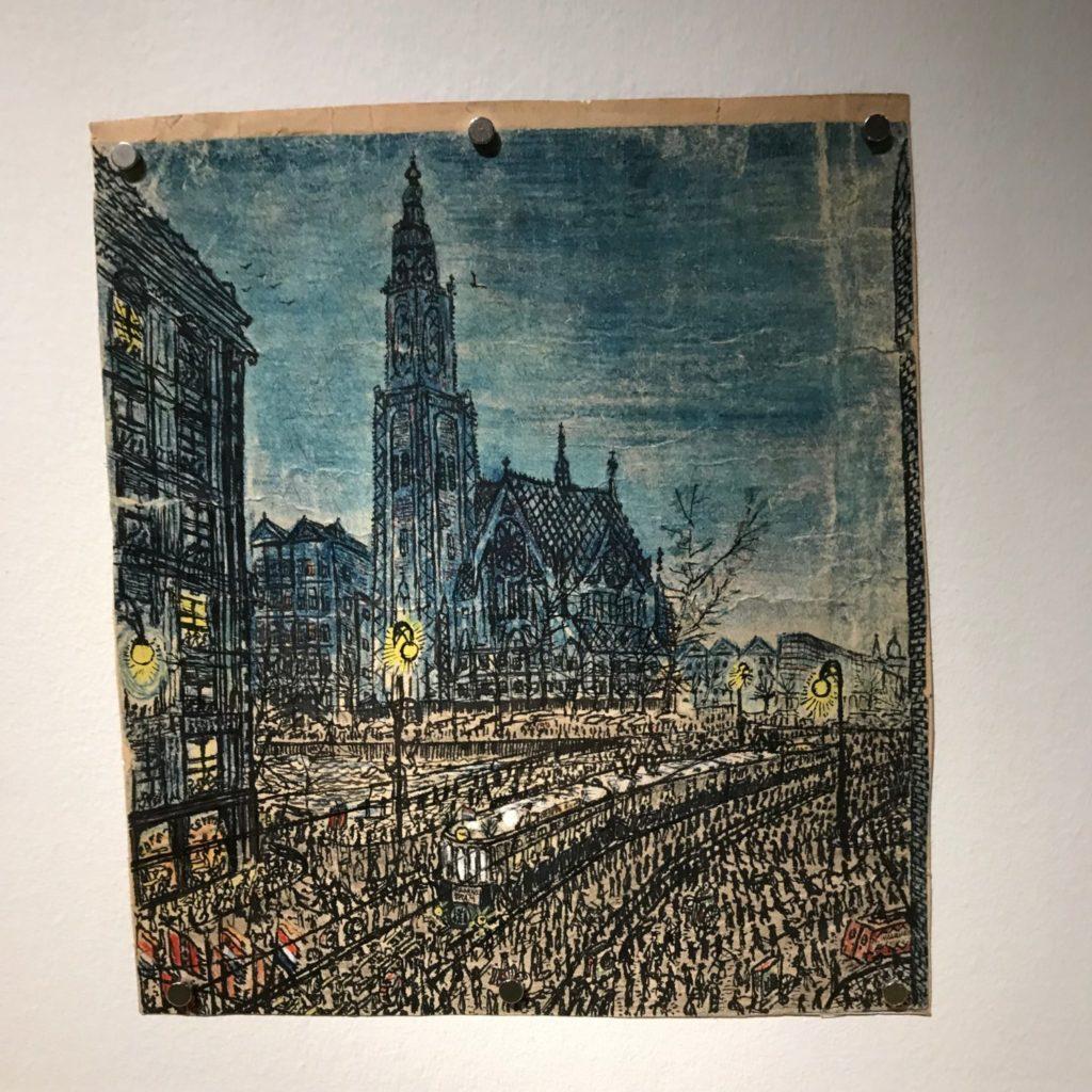 In De Hermitage is een tentoonstelling over de schilder Willem van Genk. Indrukwekkend !