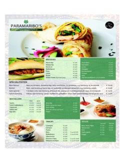 Food fotografie voor eethuisje Parimaribos op De Zwarte Markt in Beverwijk.