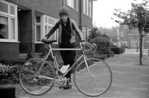 Mijn eerste racefiets van Jan de Reus uit Zwanenburg.